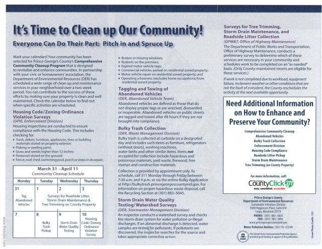 Compr. Clean up 2014 Phase 1 Info_1