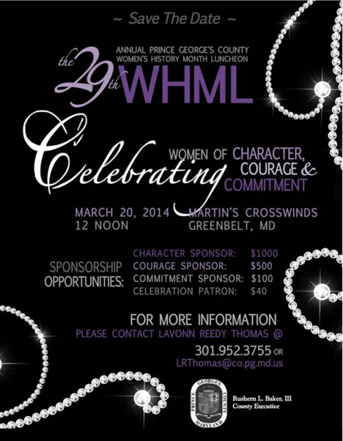 Women's History Month Luncheon