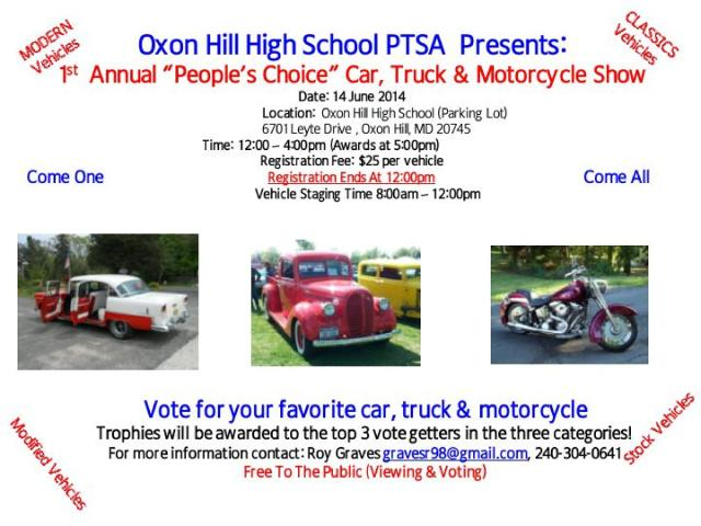 2014 OHHS Car Show Flyer 042014-page-001