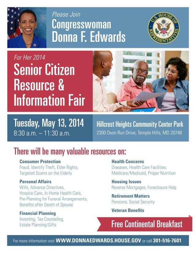 Senior Citizens Information Fair 5-13-14
