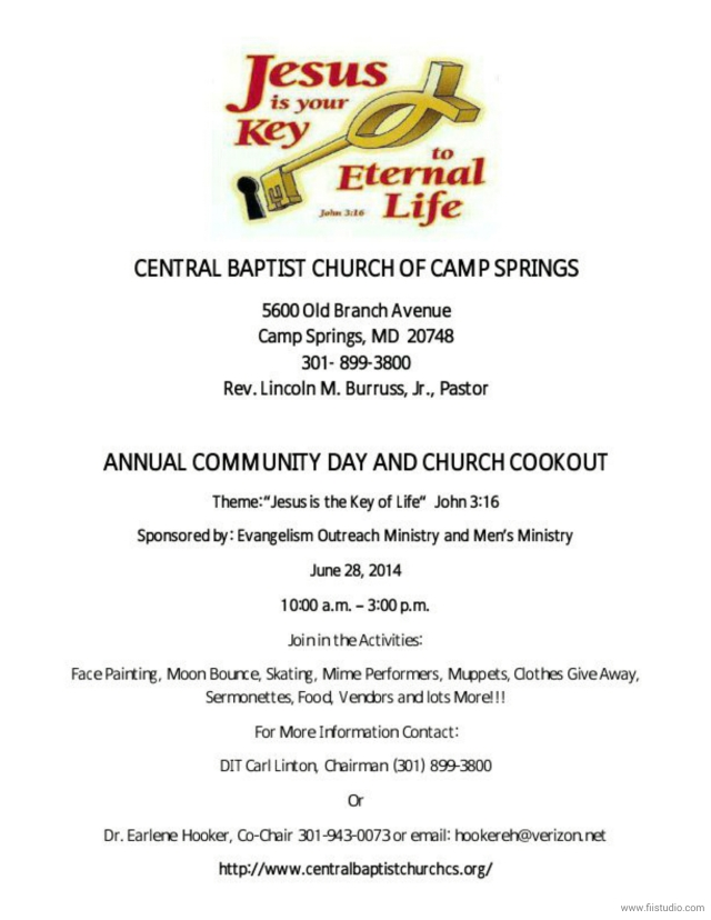 Central - Community Day Flyer 2014_1