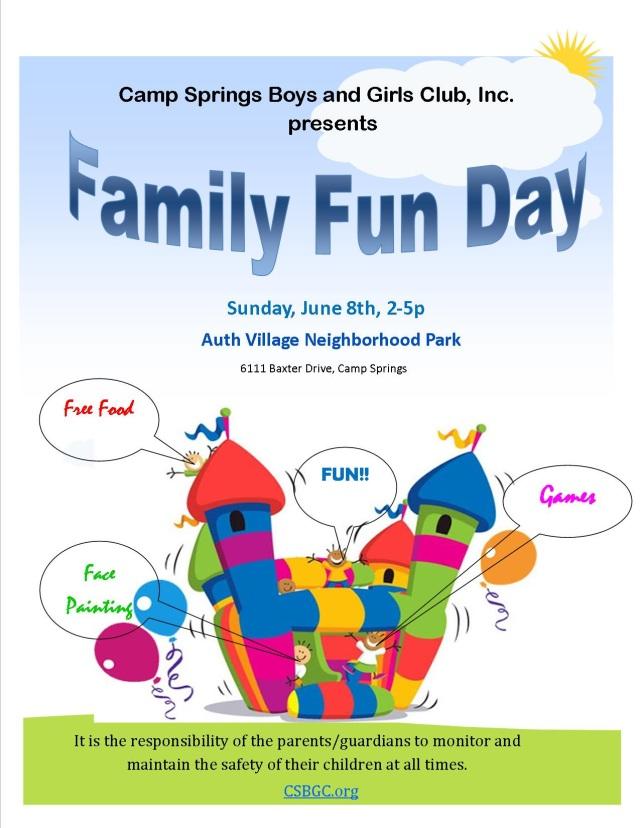 CS Boys & Girls Fun Day 6-8-14