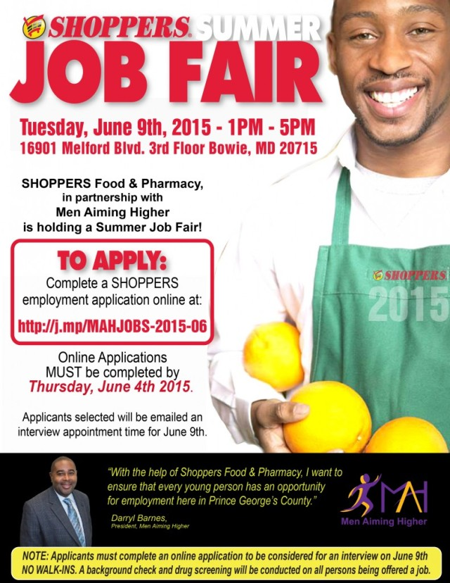 MAH Shoppers Job Fair 15'