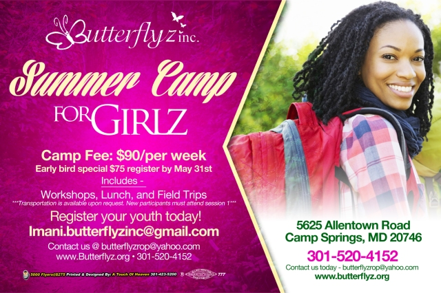GirlsCamp flyer back