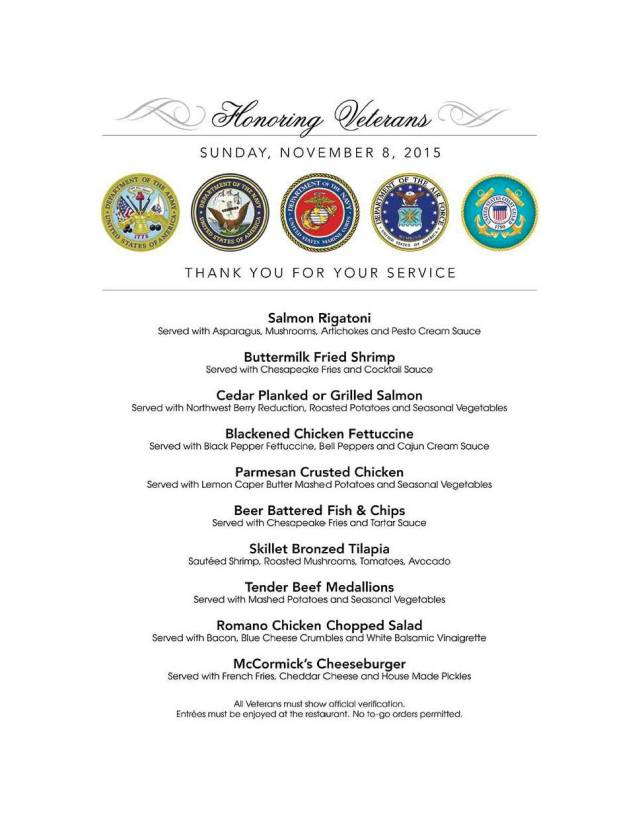 Honoring Veterans 11-08-15