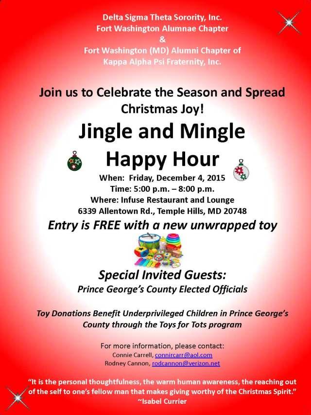 Jingle to Mingle Flyer 2015