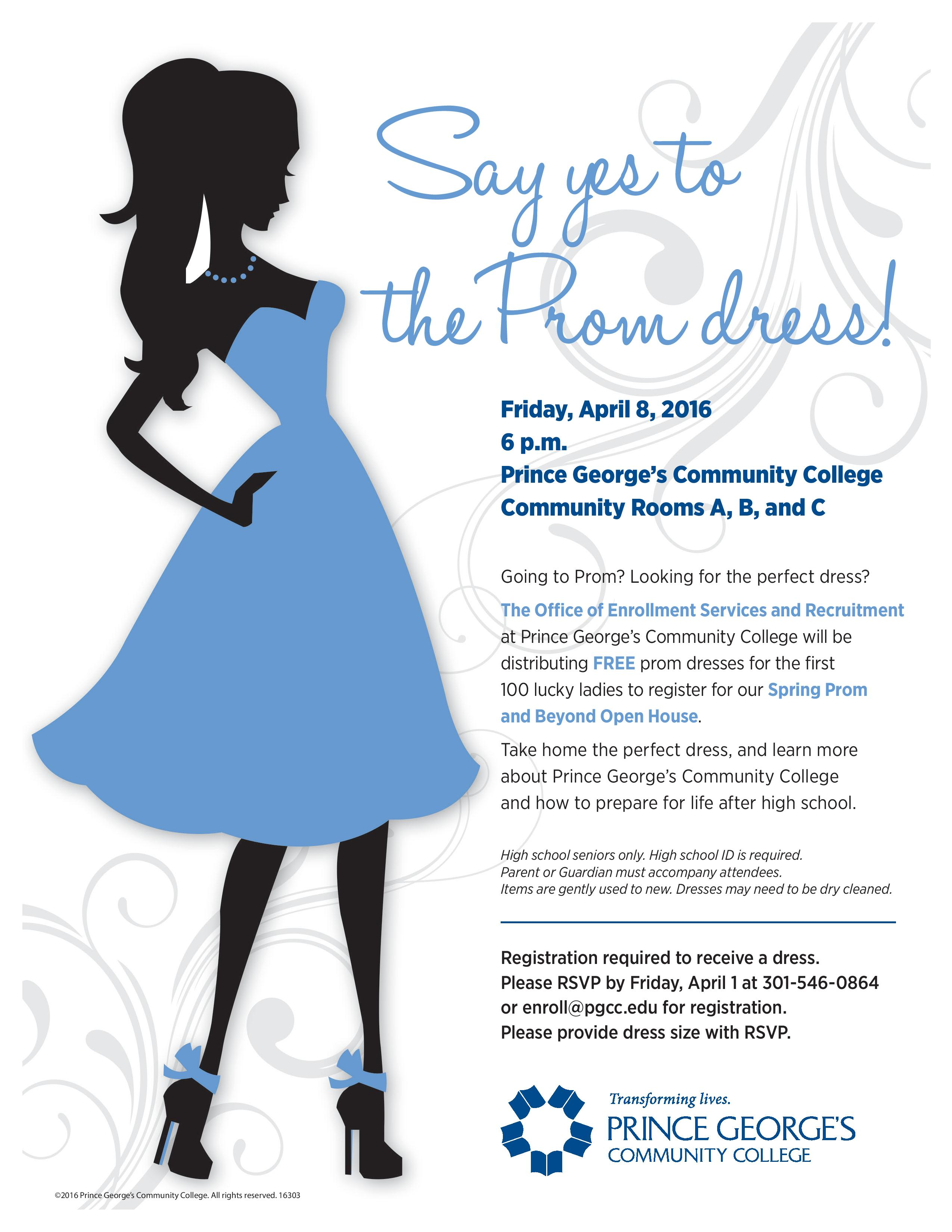 Say Yes to the Prom Dress | Camp Springs Civic Association