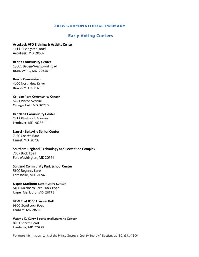 2018 Early Voting Sites - Gubernatorial Primary 02-06-2018_201802061436330212-page-001.jpg