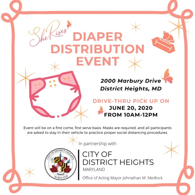 Diaper Distribution in District Heights