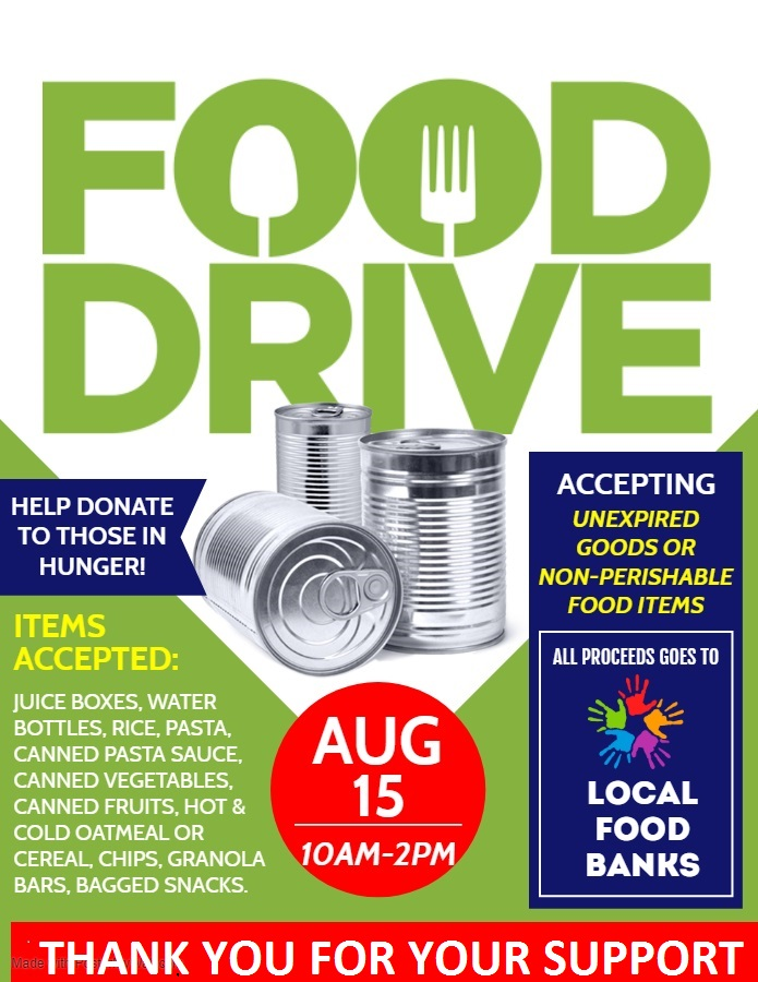 Copy of Food Drive - Made with PosterMyWall